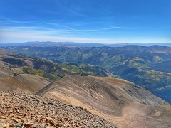 Looking east from the summit of Sunshine Peak