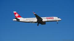 Swiss HB-JCP (Airbus 220-300)