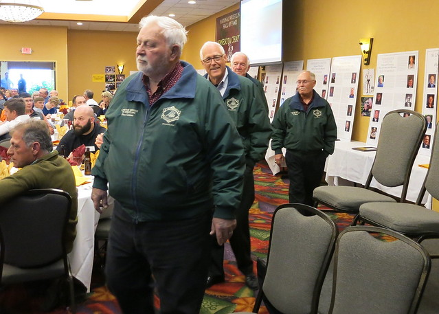 2019 National Wrestling Hall of Fame, Minnesota Chapter Parade of Green Jackets. 190427AJF0834