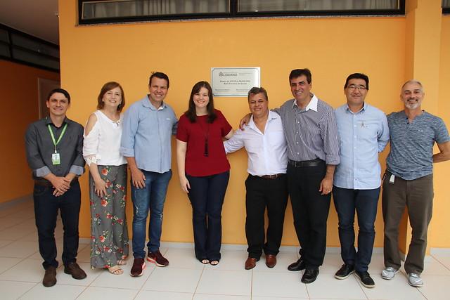 04.04.2019 Ampliação da Escola Municipal Ruth Ferreira de Souza