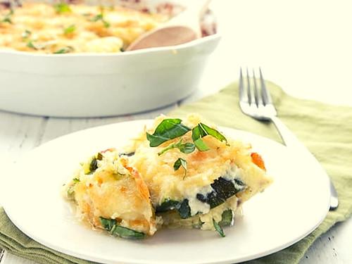 Keto Zucchini Casserole