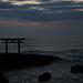 Torii on the ocean