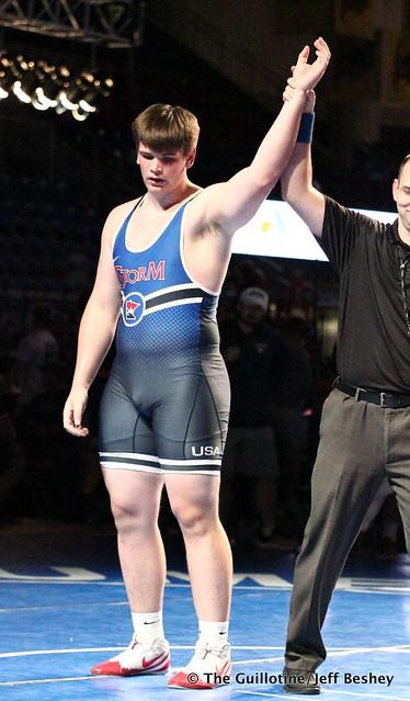 285 pounds - Gavin Layton. 190715BJF0176