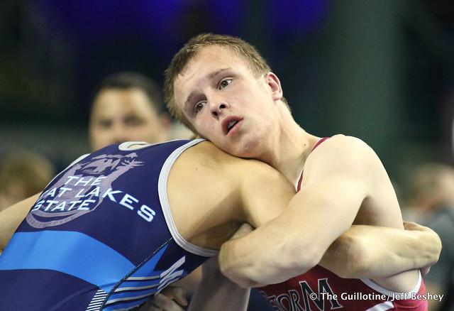 126 pounds - Ryan Scherber. 190715AJF0046