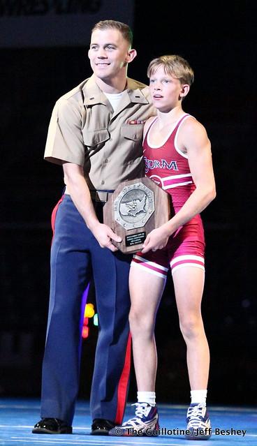 88 pounds - Caleb Thoennes. 190718CJF0046
