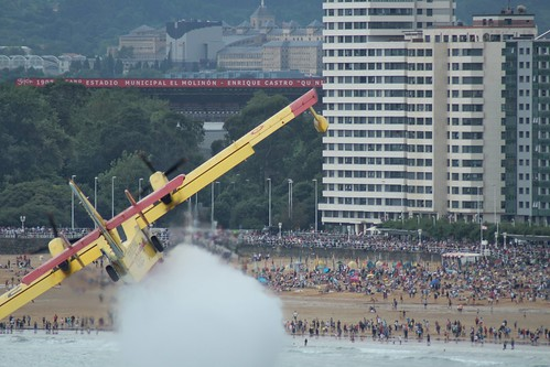 Pequeño resumen de la XIV edición del festival aéreo de Gijón, celebrado el 21 de Julio de 2019.  Fotos: Samuel Pérez