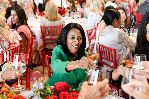Couture Council Board Member and Luncheon Co-Chair Amelia Quist-Ogunlesi