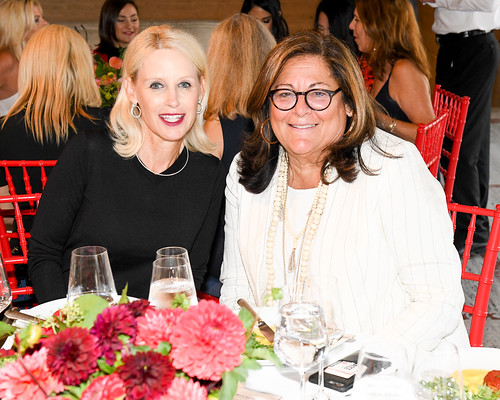 Couture Council Board Member Angela Dotson and Fern Mallis