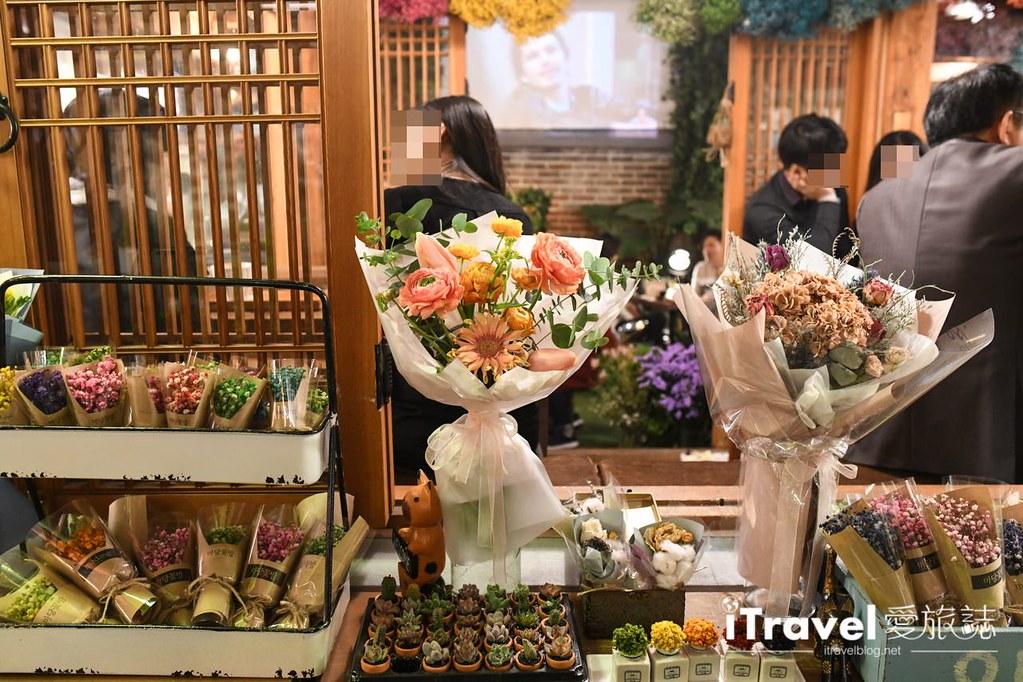 首爾庭院花房咖啡 Madang Flower Cafe (35)