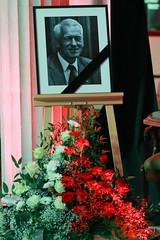 2019-10-05 Poseł Wojciech Kossakowski naostatnim pożegnaniu śp.Marszałka Seniora Kornela Morawieckiego