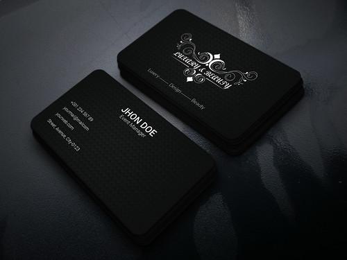 Premium Luxury Business Card