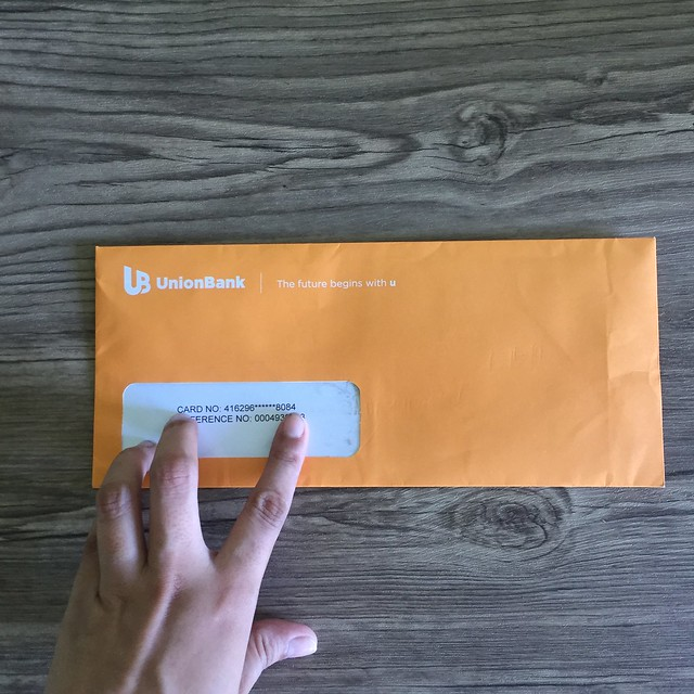 Card was delivered via Mail