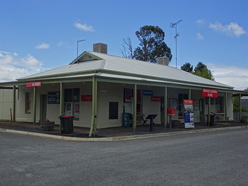 Frances in the Tatiara. The general store and Post Office. The first general store in Frances opened in 1883.