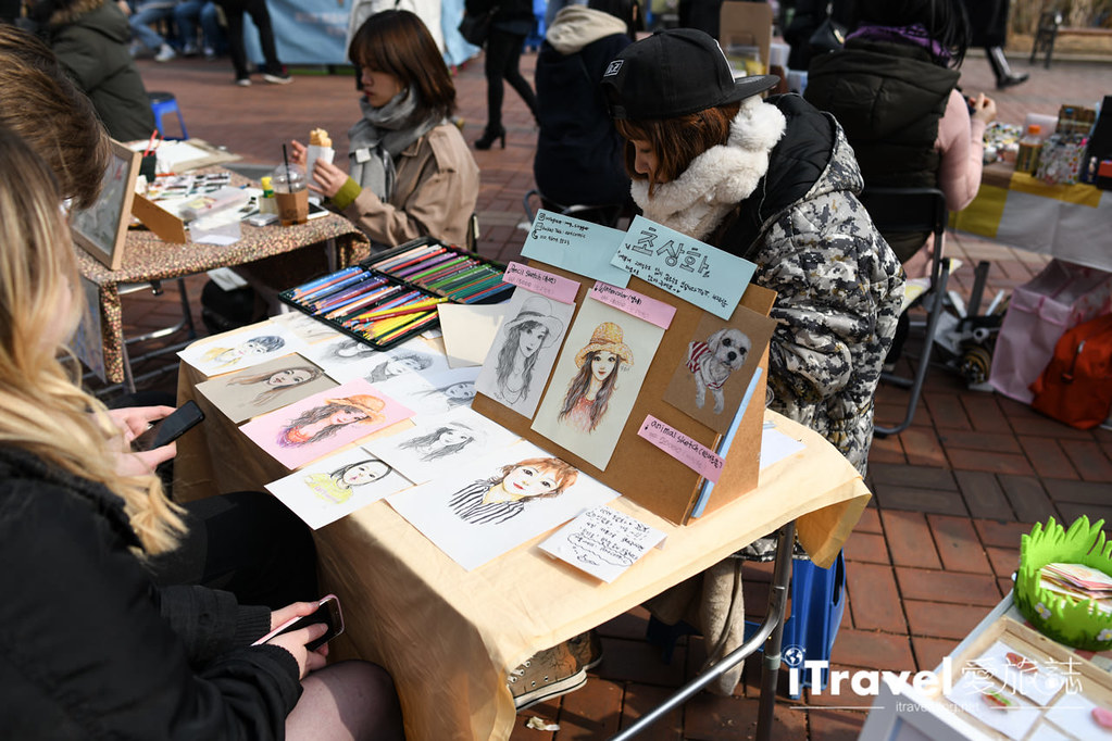 弘大自由市場 Hongdae Art Freemarket (7)