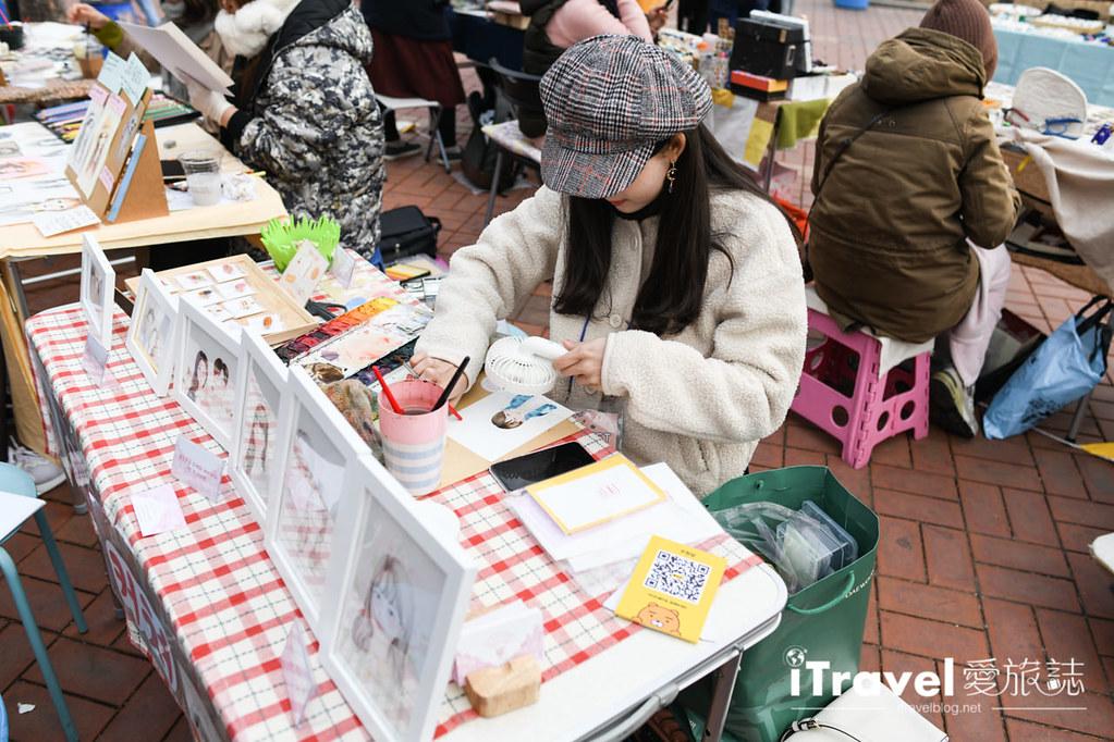 弘大自由市場 Hongdae Art Freemarket (19)