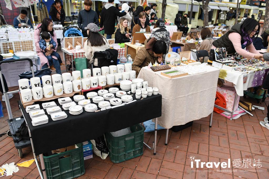 弘大自由市場 Hongdae Art Freemarket (14)