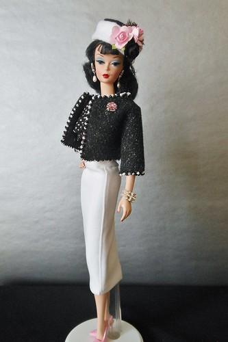 Fashion Designer Silkstone Barbie wearing Dangerous Dames