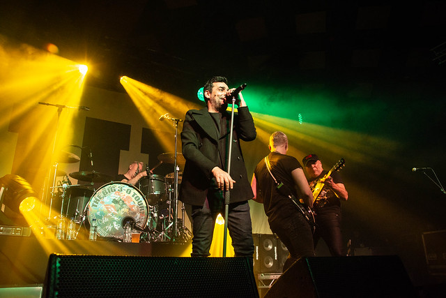 GUN - The Big 3 - 0 Tour Barrowland Glasgow 21st December 2019
