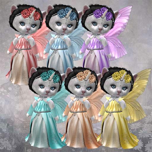 Dinkies Fairy Queen Colors