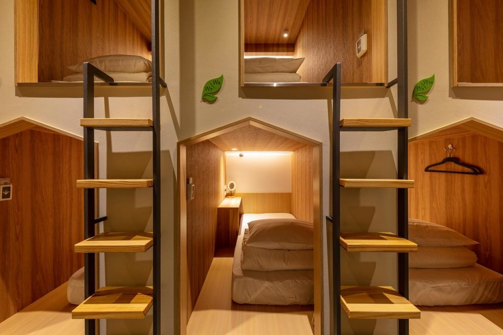 The Stay Capsule Hotel-Taoyuan Airport T2 4