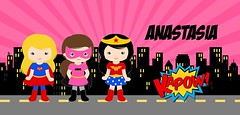 superhero girl famous