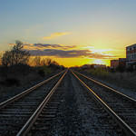 Tracks to the Sunset