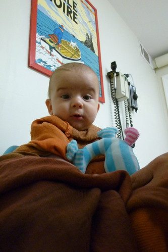 Dalai Lama Goes To The Pediatrician