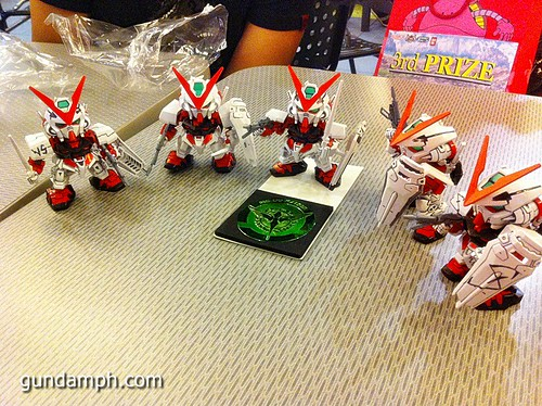 Free SD Astray Red Frame at TK Gundam Detailing Contest Caravan (30)