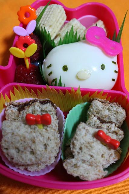 Everything Hello Kitty Bento
