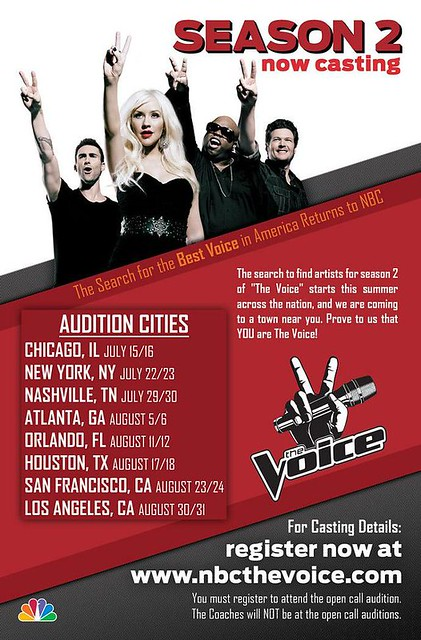 """The Voice"" Orlando Auditions"