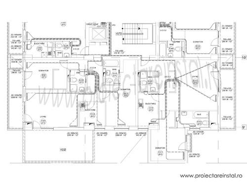 plan instalatii termice