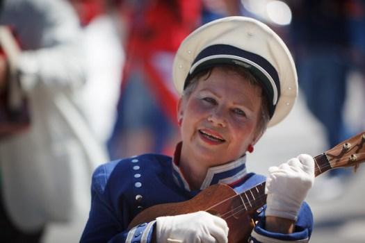 Ukelele Player - Los Trancos Woods Marching Band - Redwood City Parade