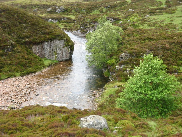 Tomintoul to Glenmore: Linn of Avon to Fords of Avaon