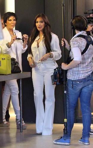 Kim Kardashian shopping for a wedding dress?