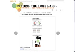 rethink the food label