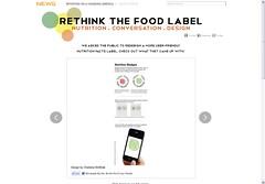 rethink the food label