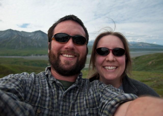Lee and Kate at Eielson
