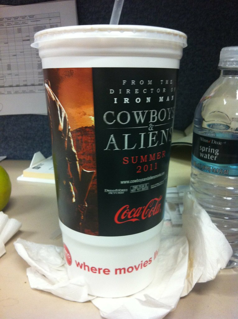 Cowboys and Aliens cup