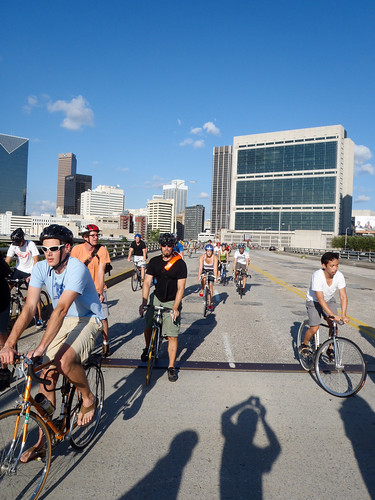 Critical Mass July 29, 2011 - Headed Out MLK by TimothyJ