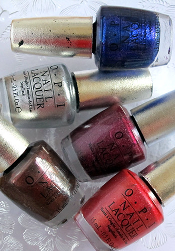 O.P.I. DS polishes :)