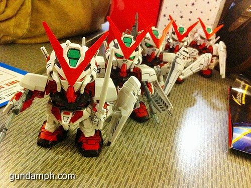 Free SD Astray Red Frame at TK Gundam Detailing Contest Caravan (46)