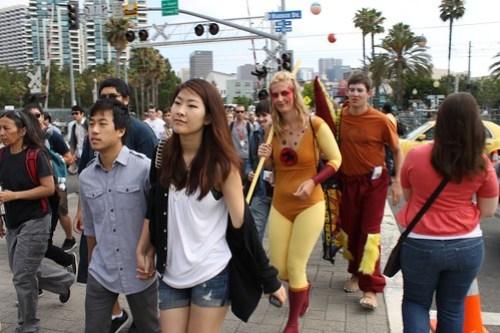 San Diego Comic-Con 2011 - Day 3