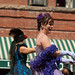 Dance Hall Girls in Parade