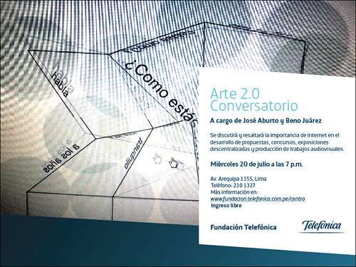 Conversatorio Arte 2.0