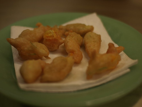 fried zucchini blossoms by ted_major