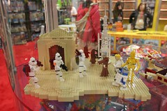 Star Wars Miniland Scene - LEGO Booth at Comic Con - 2