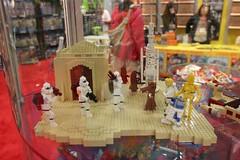 Star Wars Miniland Scene - LEGO Booth at Comic Con - 2