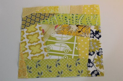 Block 2 for July Sew & Bee-Happy