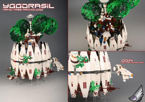 """YGGDRASIL"" Nano-tree Archology"
