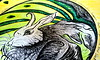 Rabbit Mandala: Ears Still To The Lonely Wind (Detail)